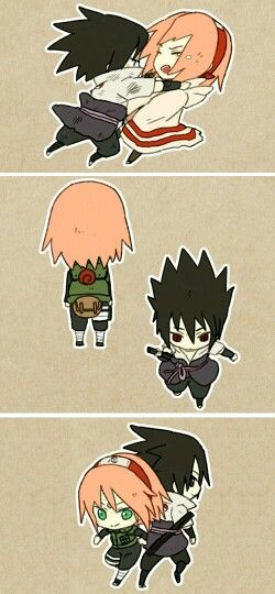Sakura y Sasuke part 3