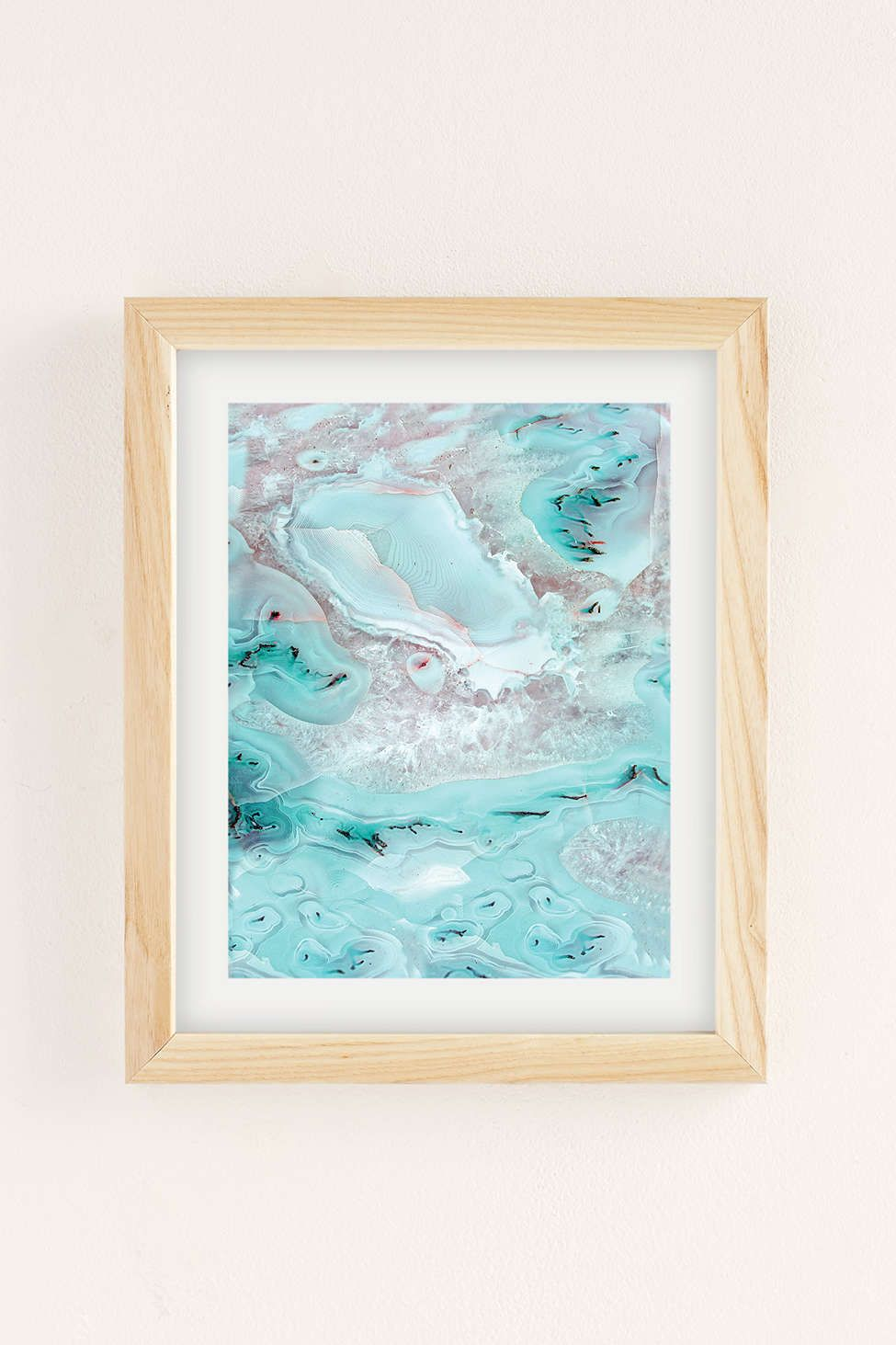 UO Custom Agate Art Print 30x40 $199 framed