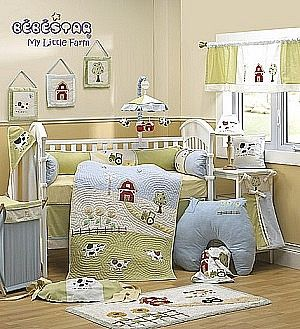 Farm Crib Set My Little Farm 4 Piece Baby Crib