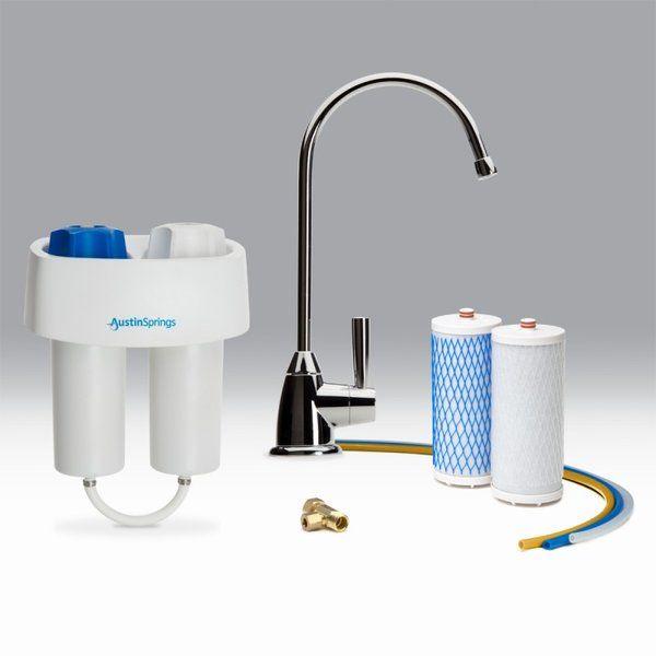 Austin Springs Under Counter Water Filter System Under Counter Water Filter Water Filter Best Water Filter