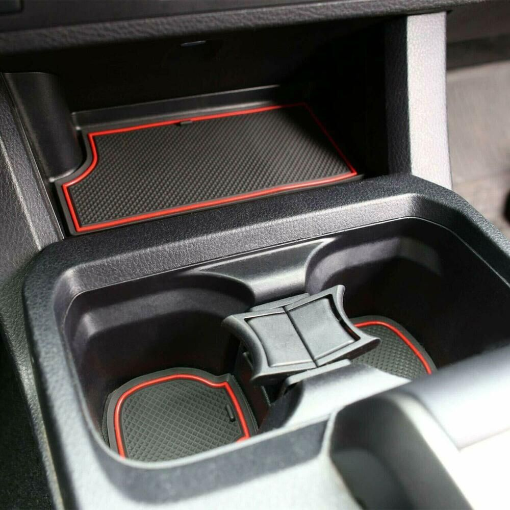 for Toyota Fit Cup and Door Center Console Liner