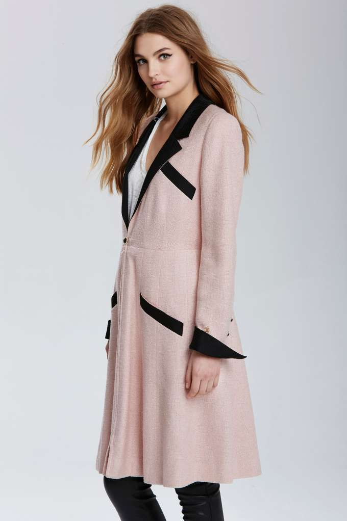 Vintage Chanel Reims Tweed Coat - Clothes | All | Jackets + Coats | What's New | Chanel | The Score
