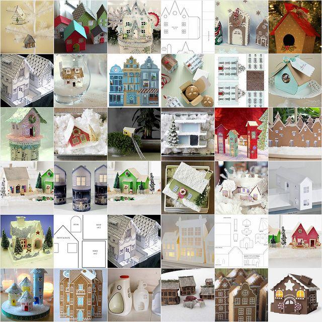 123 tutoriales casas de papel