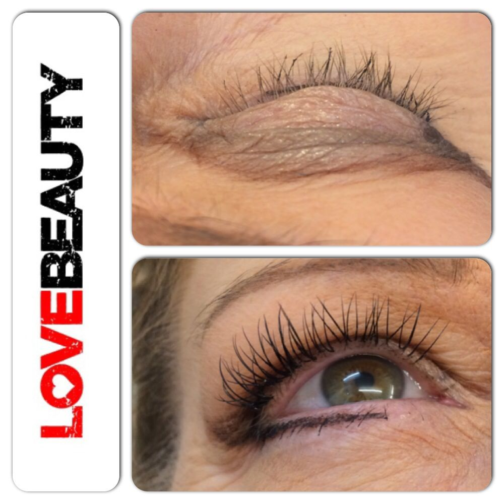 ca1366f0c20 Natural 10mm marvellash express application 1st time for client having lash  extensions and left happy