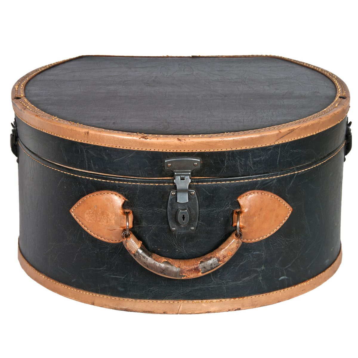Leather Hatbox Suitcase Leather Hat Boxes Unusual Handbags