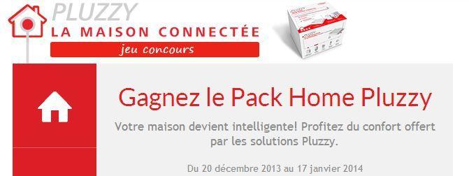 Dès aujourd'hui et jusqu'au 17 janvier, participez à notre #jeuconcours pour tenter de gagner un Pack Home Pluzzy! https://www.facebook.com/pluzzy/app_138778399475757