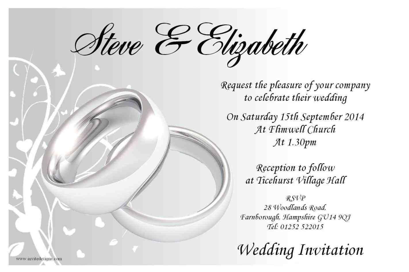 Contact Support  Wedding invitation layout, Wedding invitation