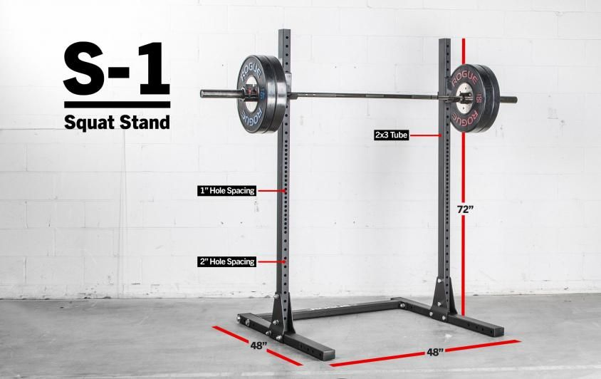 Standing Six Feet High With A 4x4 Footprint The American Made S 1 Squat Stand