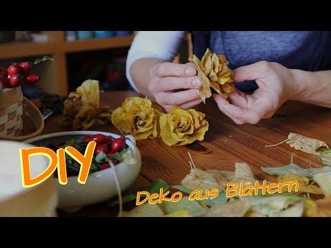 (58) Herbstdeko selbermachen   Deko aus Laubblättern   herbstliche Tischdeko - YouTube #herbstlichetischdeko (58) Herbstdeko selbermachen   Deko aus Laubblättern   herbstliche Tischdeko - YouTube #herbstlichetischdeko