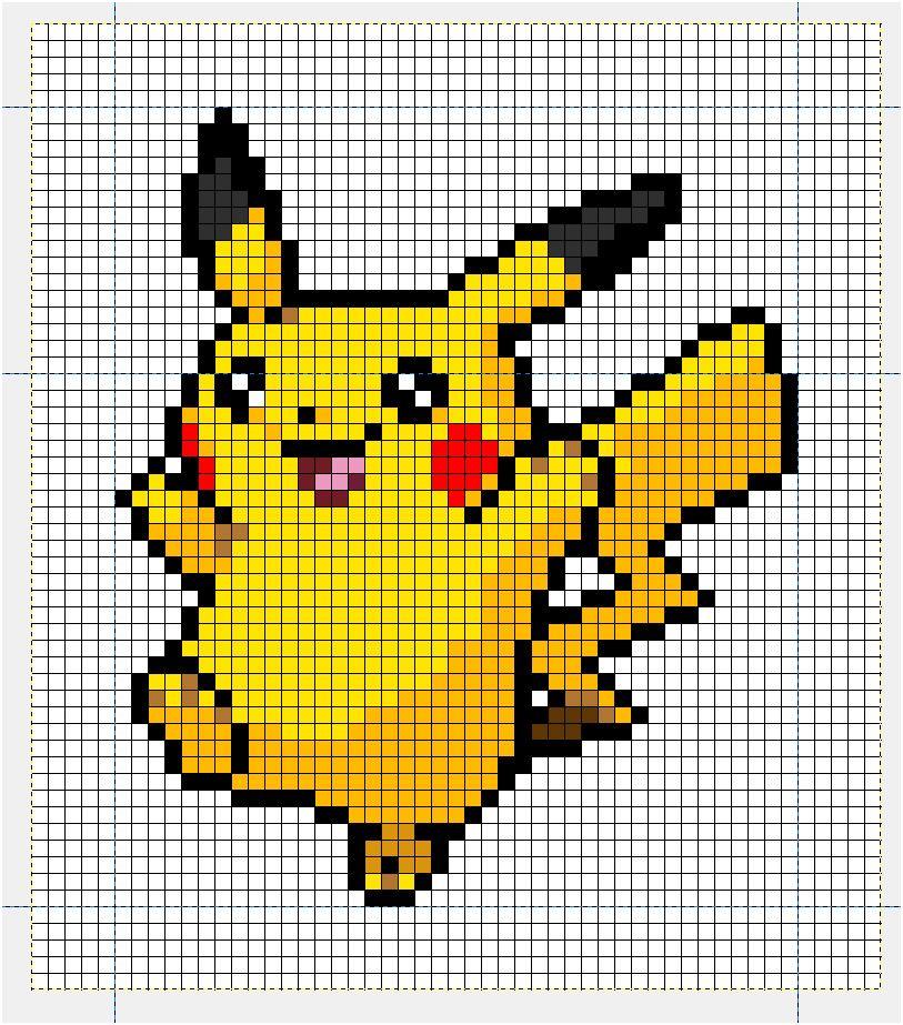 Modele Pixel Art A Imprimer Nouveau Modele Pixel Art   Pixel art à imprimer, Modele pixel art ...