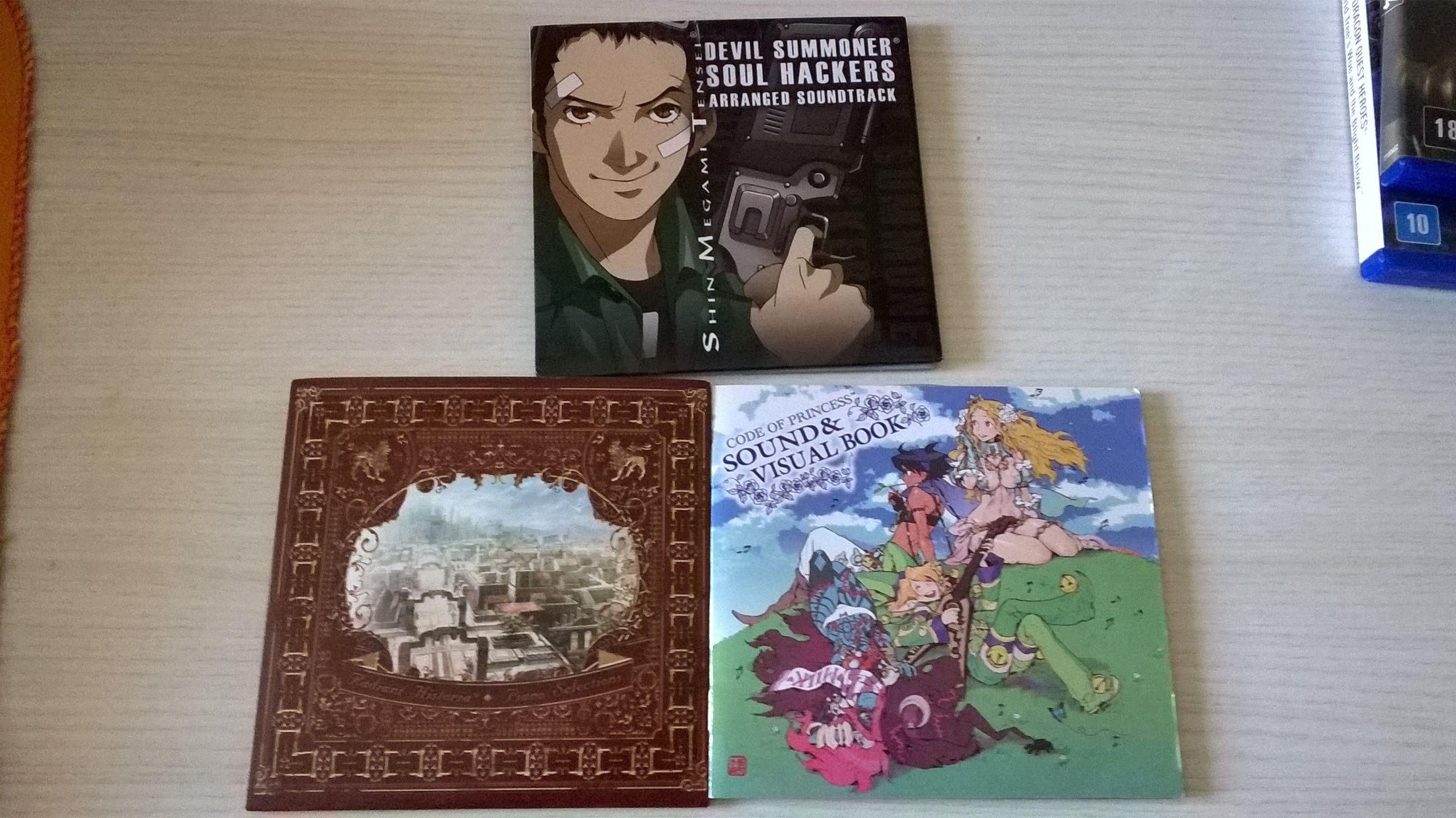 Vendo jogos DS e 3DS, CDs de OSTs (+Dragon Quest, + Castlevania, e outros) 3b0d63d694bb622908618add8e6706a4