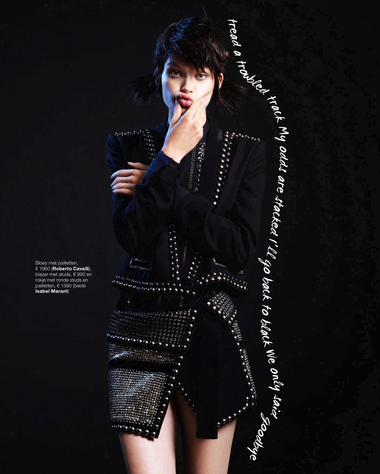 visual optimism; fashion editorials, shows, campaigns & more!: het nieuwe zwart: benthe de vries by klaas jan kliphuis for marie claire netherlands september 2013