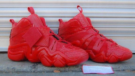 adidas Crazy 8  Red Python  Custom  4526de4fd0