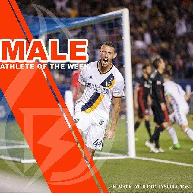 @dsteres44 making an incredible debut by scoring the @lagalaxy first goal of the season! #nicelydone #lagalaxy #maleathleteoftheweek