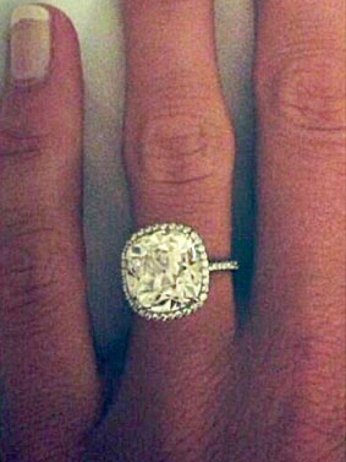 Caroline Wozniacki's engagement ring
