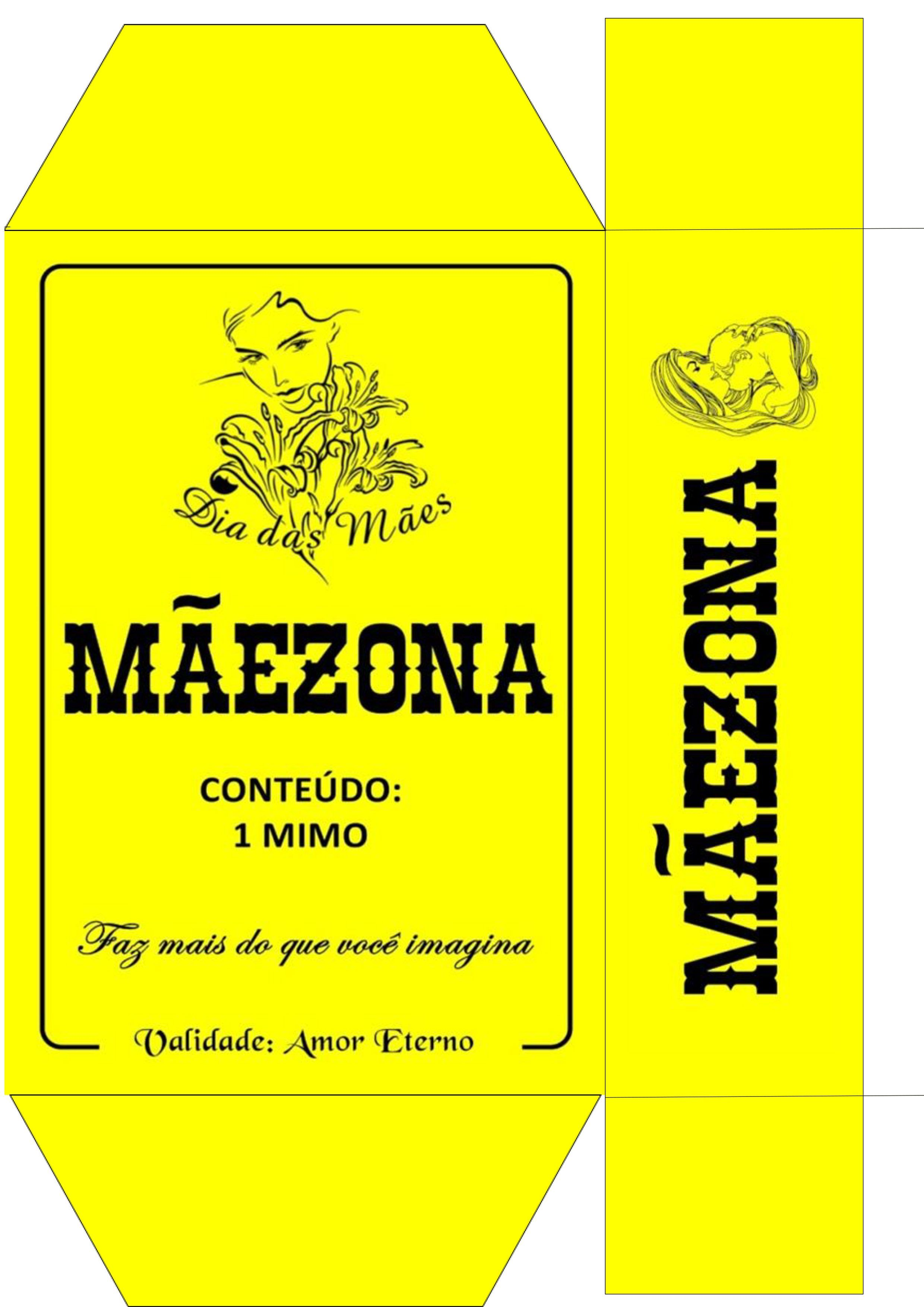Caixa Maezona Presente Dia das Maes - Parte 1 | Silhouettes