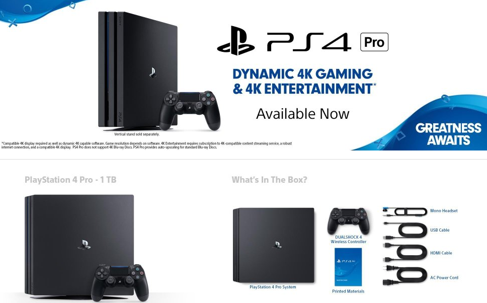 Buy Sony PS4 Pro in India, Lowest Price, in Stock on Amazon