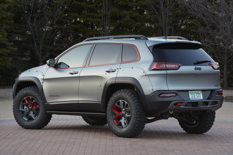 Jeep Cherokee KL Dakar concept vehicle revealed 2014