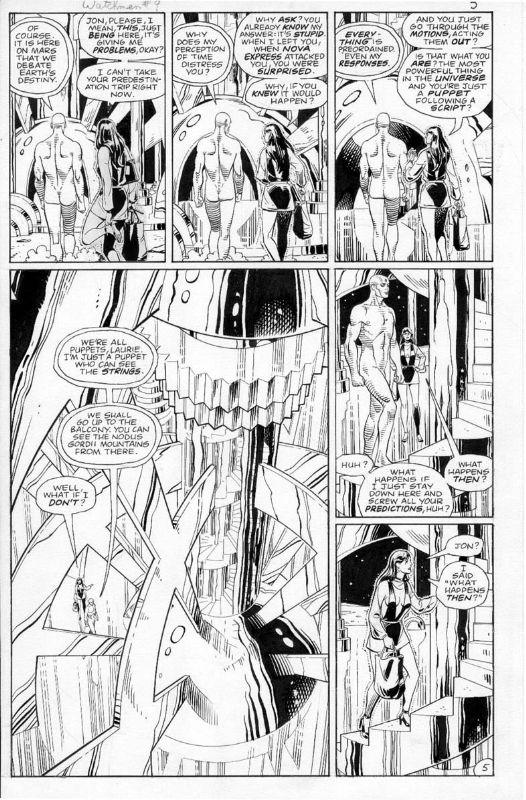 Watchmen comic porn