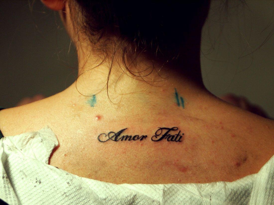 Amor Fati tattoo Time tattoos, Tattoos, Amor fati tattoo