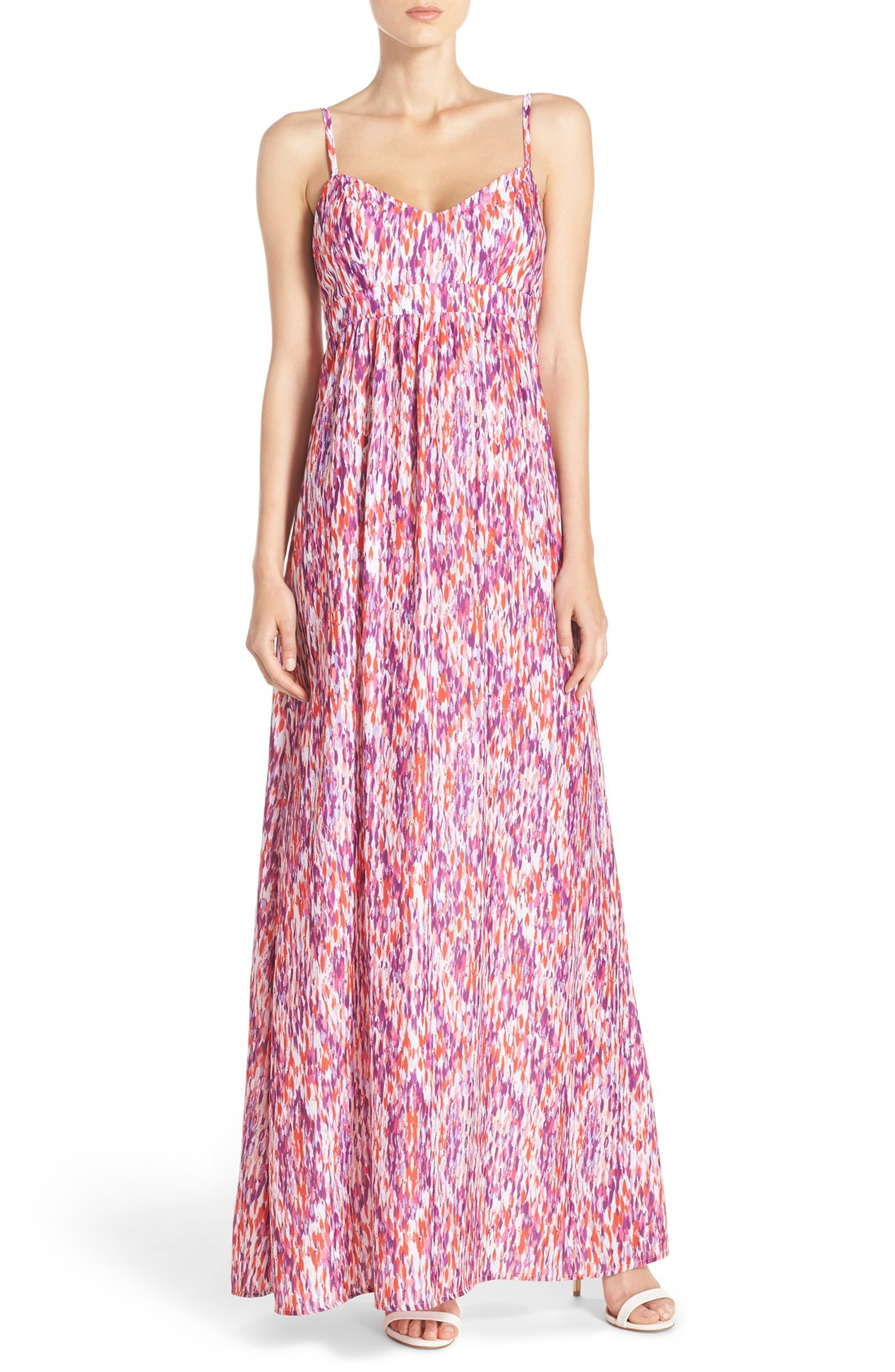 ed46d0e3c16 Main Image - Felicity   Coco Woven Maxi Dress (Regular   Petite) (Nordstrom  Exclusive)