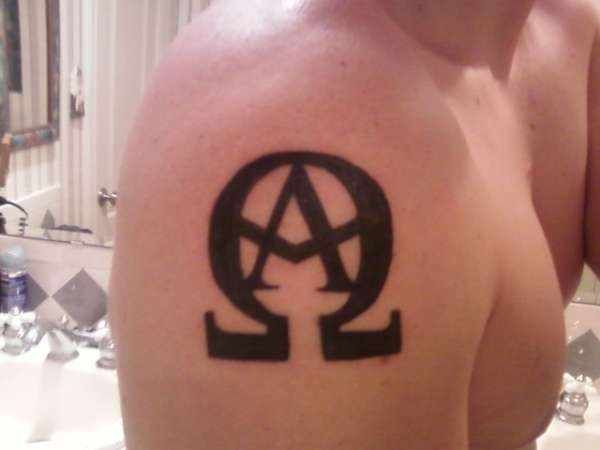 alpha and omega bible meaning alpha and omega tattoo wrestling pinterest tattoo alpha. Black Bedroom Furniture Sets. Home Design Ideas