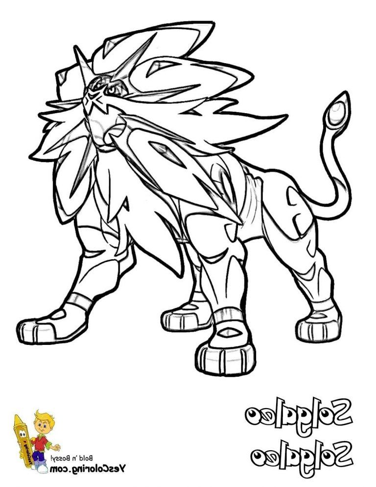 Solgaleo Coloring Page Free To Download In 2021 Pokemon Coloring Pages Pokemon Coloring Emoji Coloring Pages