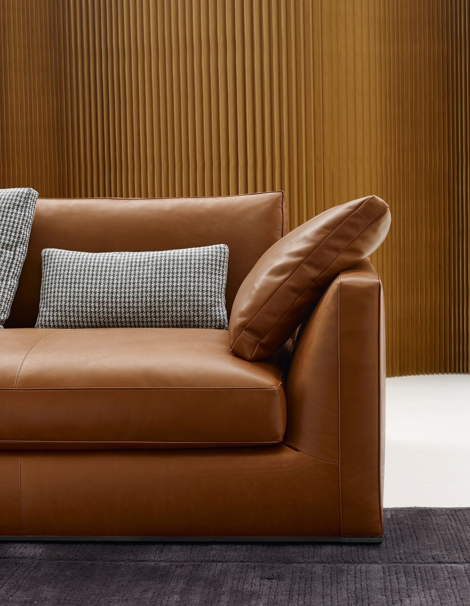 3 Seater Leather Sofa Richard Collection By B Canape En Cuir