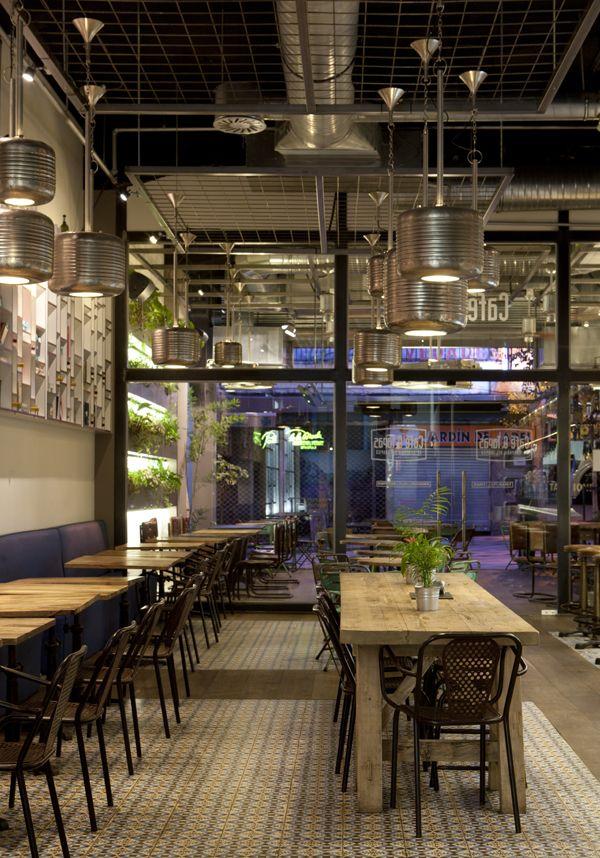 Virlova interiorismo places caf tapas en estilo - Cuca arraut interiorismo ...