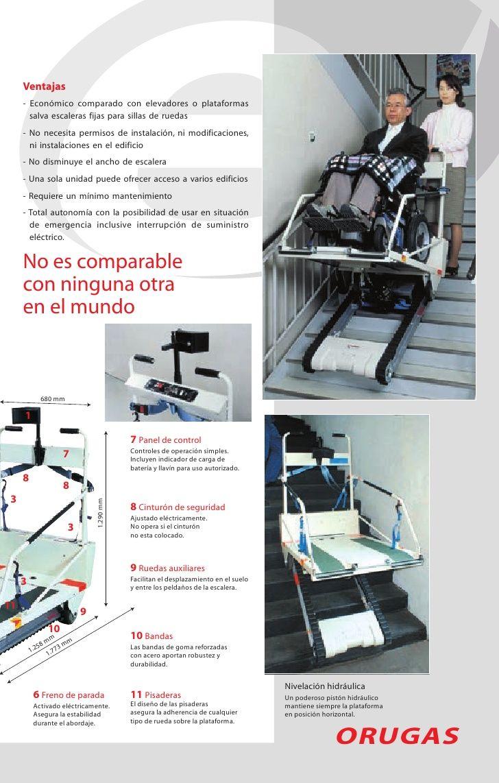 Ventajas         - Económico comparado con elevadores o plataformas           salva escaleras fijas para sillas de ruedas ...