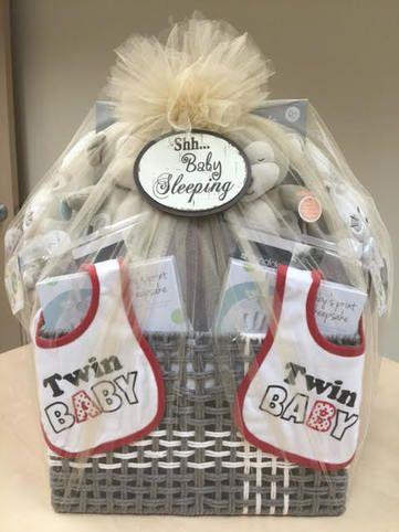 Baby Shower Gift Baskets Twin Gift Baskets Twin Boys Gift Ideas