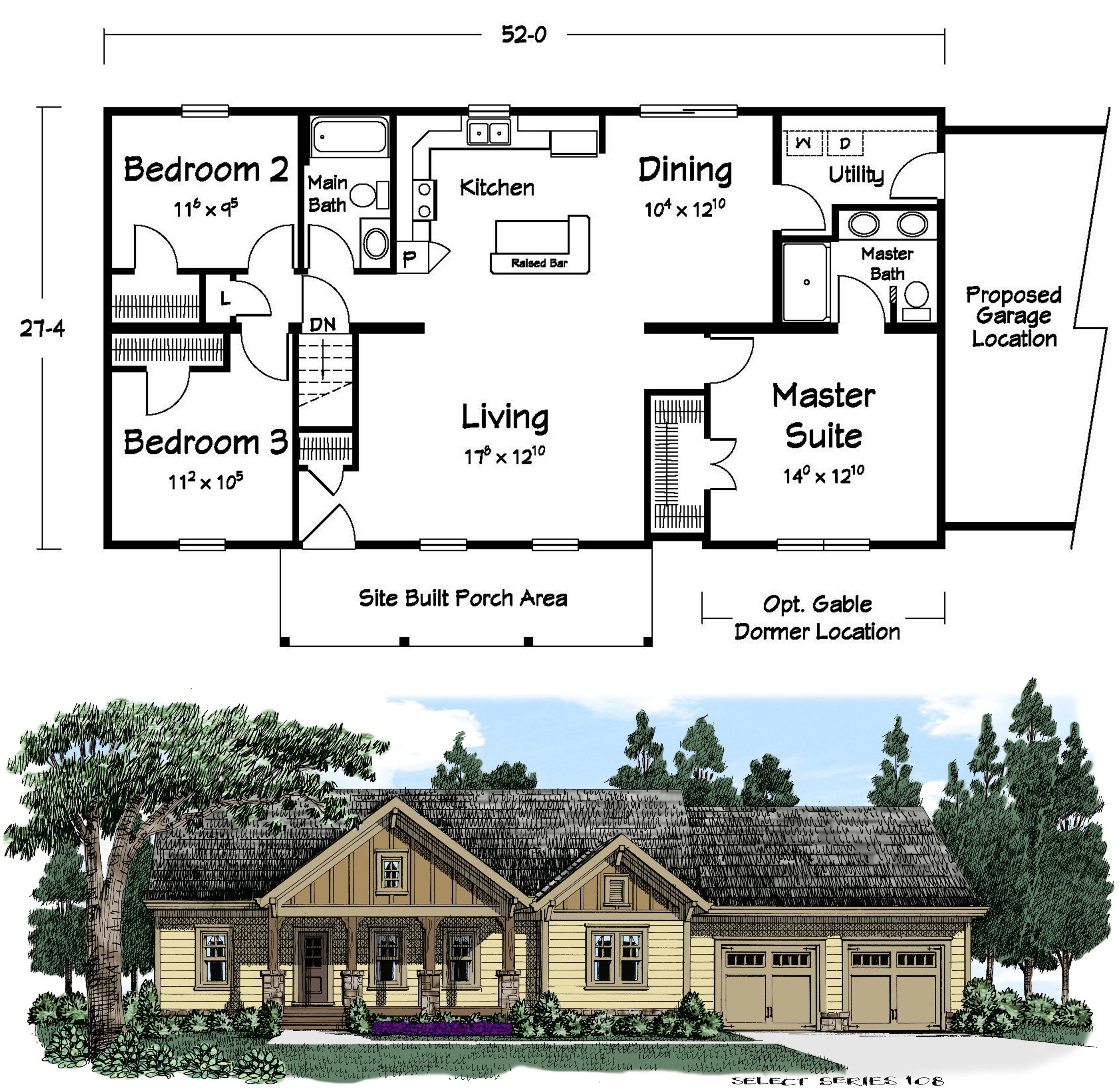 what do you like most about this plan tell us below ranch style