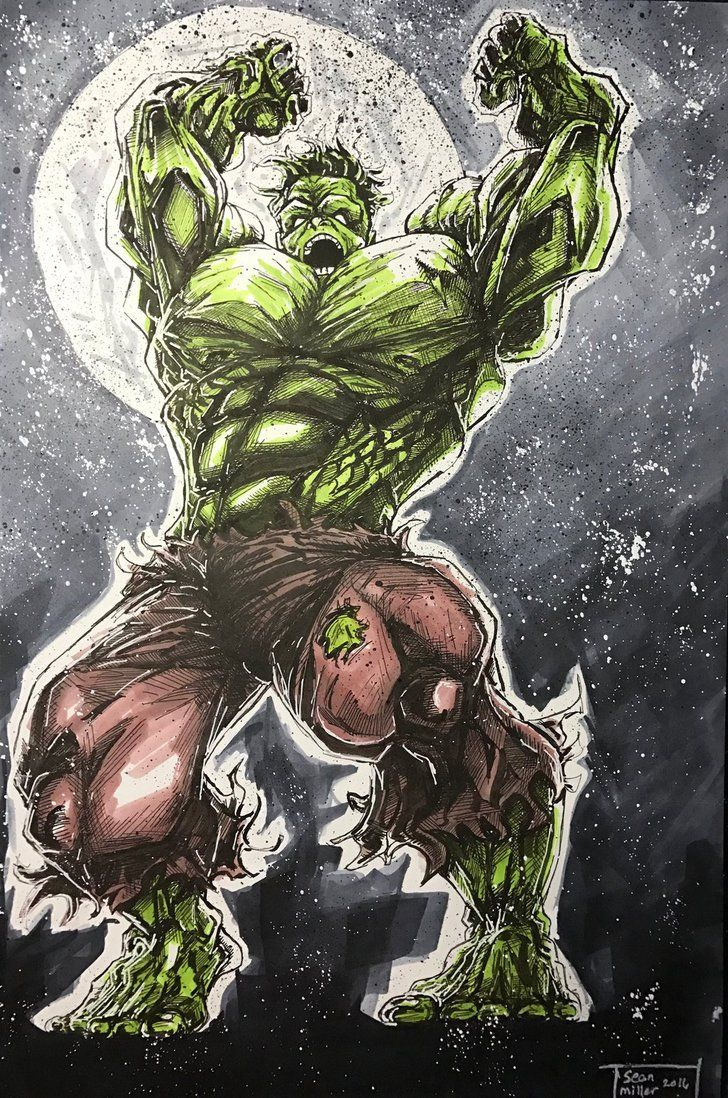 Hulk #Fan #Art. (Hulk Smash!) By: SeanM33. ÅWESOMENESS!!!™ ÅÅÅ+ ...