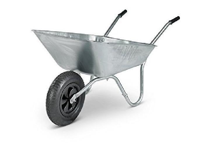 Heavy Duty Wheelbarrow Trolley Single Wheel Galvanized Stainless Steel Made New Wheelbarrow Wheelbarrow Garden Yard Tools