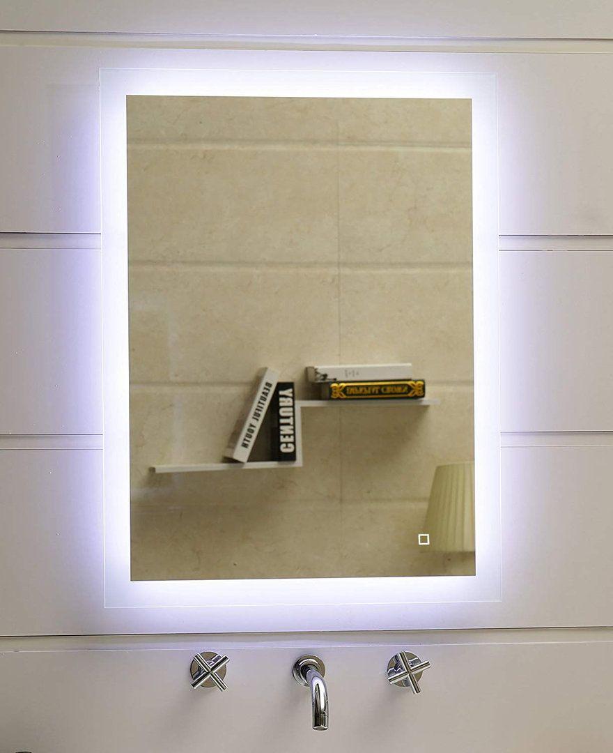 Led Lichtspiegel Barmen 50 X 70 Cm Mit Touch Schalter Mit Bildern Lichtspiegel Led Led Licht