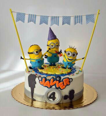 Pin by ANNA on cake Pinterest Cake Minion cakes and Cake minion