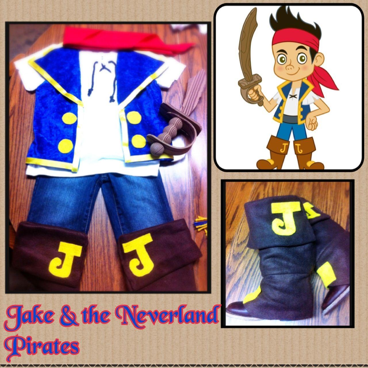 diy jake costume jake & the neverland pirates birthday party | my