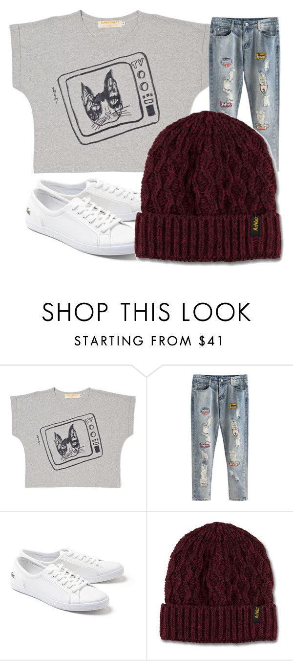"""Untitled #764"" by laurie-egan on Polyvore featuring Lacoste and Dr. Martens"