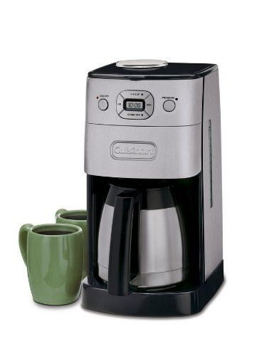 The Cuisinart Grind and Brew Thermal 10 Cup Automatic Coffeemaker