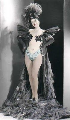 285f6482e588 Vintage burlesque costume. I really want a cape like this ...