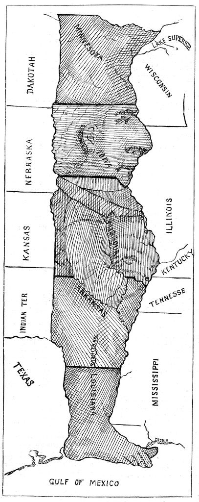 Man In The Middle Of The Us Map states_man   Homeschool social studies, Teaching history, Teaching
