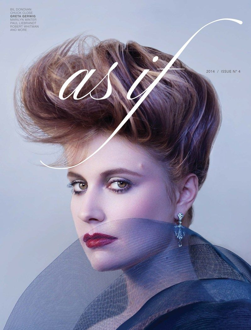 Bernstein & Andriulli - News - Stacey Jones Styles Greta Gerwig for As If Issue No. 4