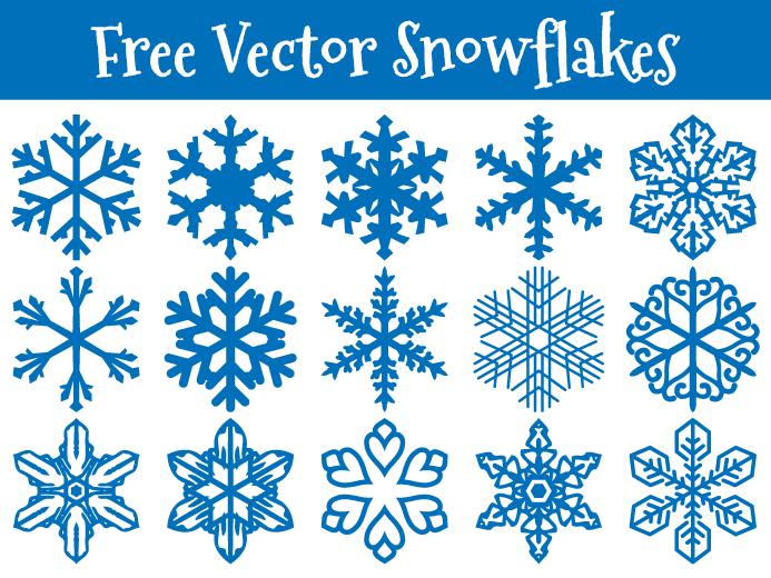 http pixaroma com free vector snowflakes tutorial navidad y rh pinterest com free vector art snowflakes free vector art snowflakes