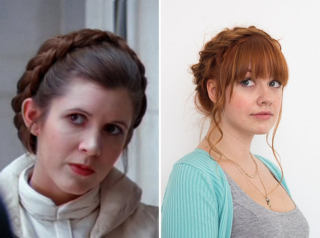 Show Off Your Love For Star Wars By Wearing Your Hair Like Princess