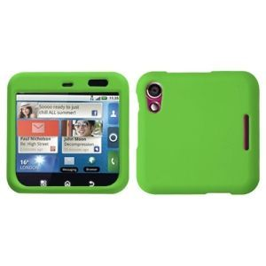 Insten Dark Rubberized Phone Case Cover for Motorola MB511 Flipout #1109356
