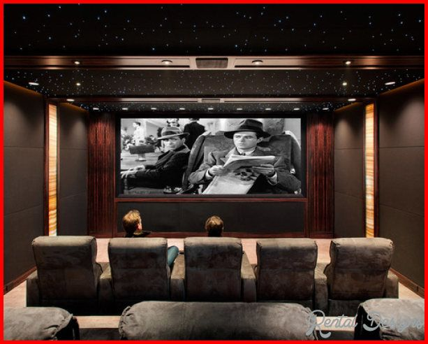 Cool Small Home Theater Design
