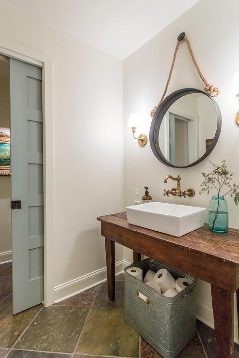 Hanging Mirror From Ceiling Google Search Bathroom Design Trendy Bathroom Amazing Bathrooms