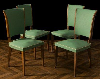 Chaises vintage 1950, chaises anciennes déco Pinterest Chaise