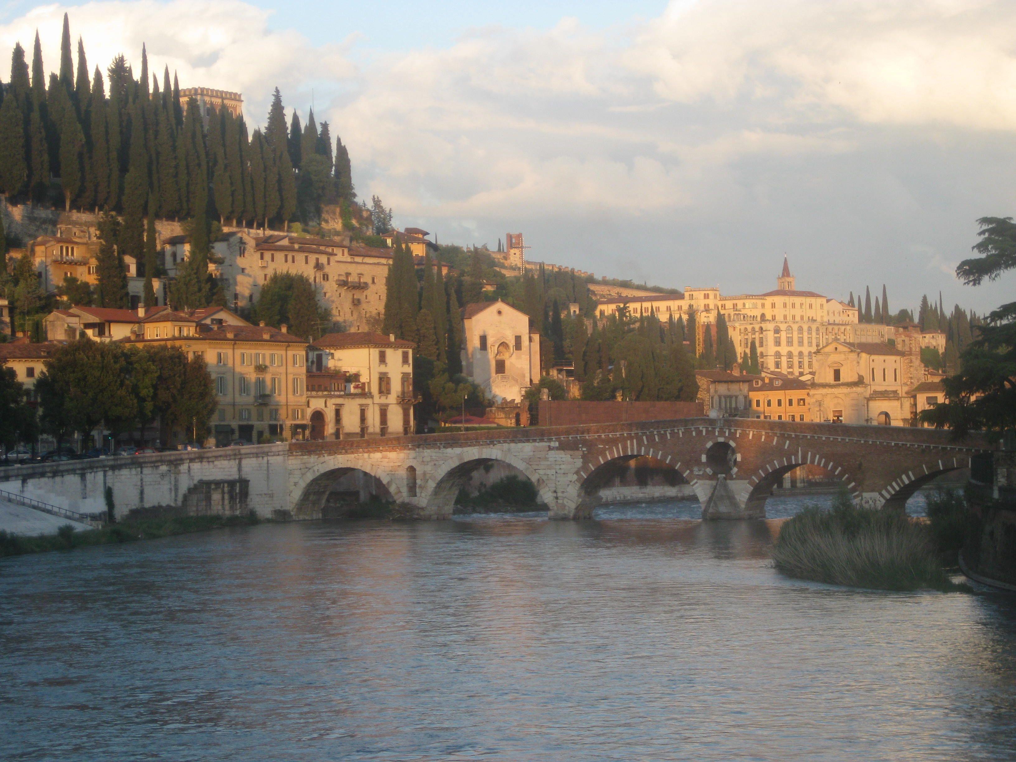 Summer in Verona where I spent a year on Erasmus. It was ...
