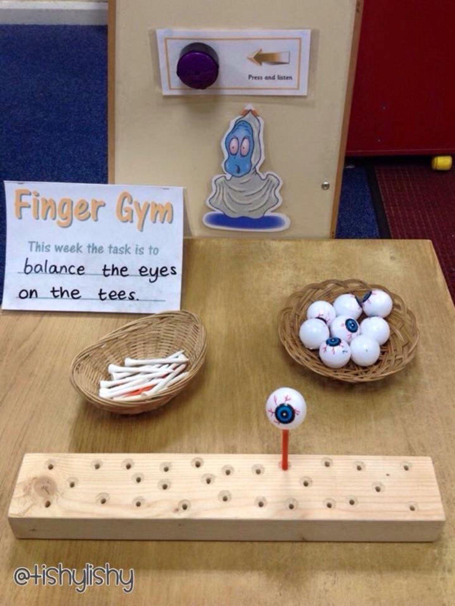 Finger Gym Activities